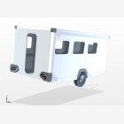 Mobile Research, Data Capture Unit Caravan - 3