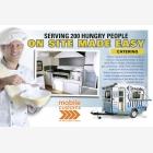Mobile Catering Food Unit Caravan - Flyer
