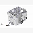 Mobile Catering Food Unit Caravan 1