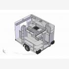 Mobile Catering Food Unit Caravan 2