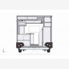 Mobile Catering Food Unit Caravan 4