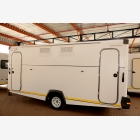 Mobile Empty Caravan Unit - Medium 2 Door_7