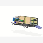 Mobile Toy Hauler, Cargo Unit Caravan - 6