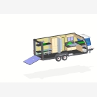 Mobile Toy Hauler, Cargo Unit Caravan - 5
