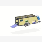 Mobile Toy Hauler, Cargo Unit Caravan - 4
