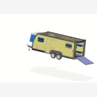 Mobile Toy Hauler, Cargo Unit Caravan - 3