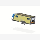 Mobile Toy Hauler, Cargo Unit Caravan - 2