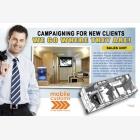 Mobile Marketing Caravan Unit - Site Office - Brochure