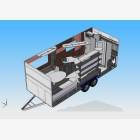 Mobile Marketing Caravan Unit - Site Office 1