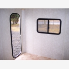 Mobile Empty Caravan Unit - Medium - Side Door 2
